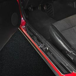 /5/ND Telaio in acciaio con cavo in nero senza custodia Frangivento per Mazda MX/